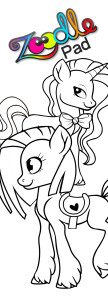 zoodle_bookmark_ponies2x6